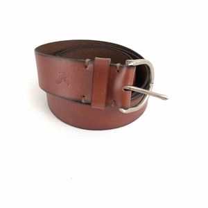 American Eagle Brown Leather Belt Mens Sz Medium